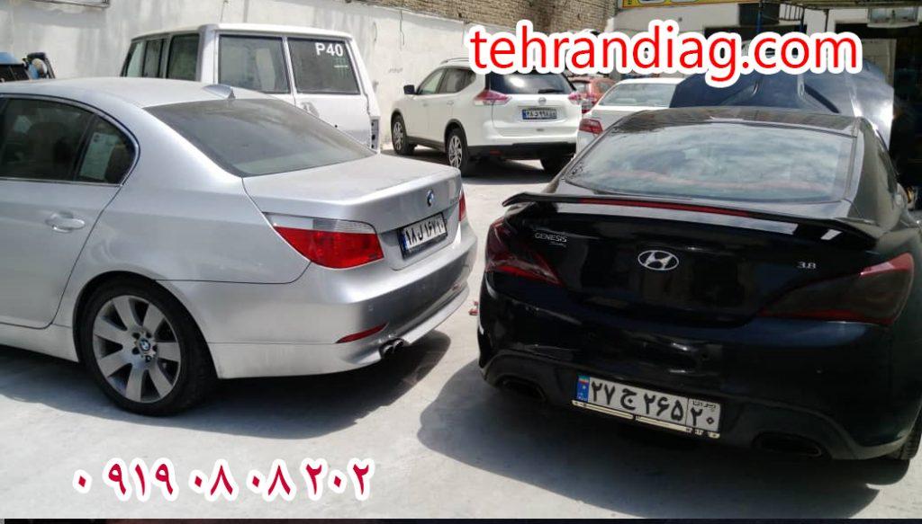 تعمیرگاه بی ام و مرکزی تهران دیاگ